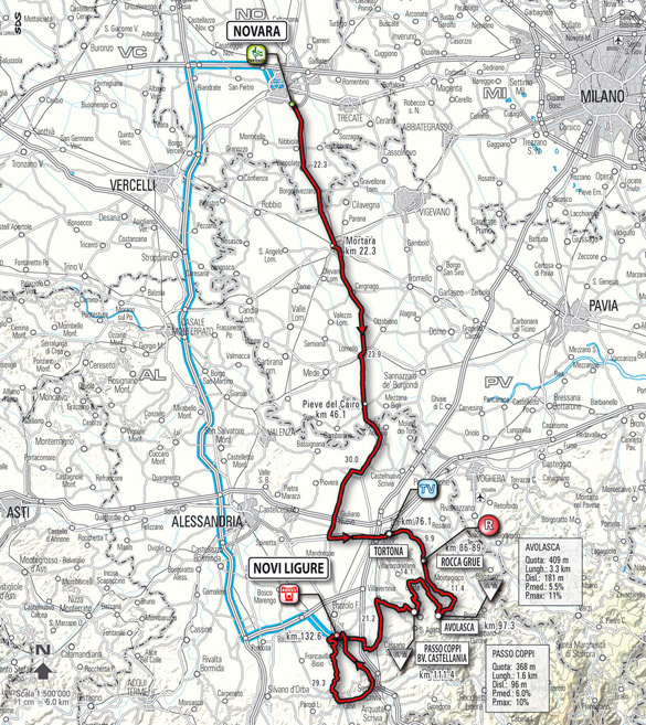 stage 5 route map