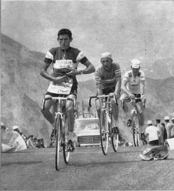 Guyot, izier and Wright go over the Aubisque in 1968