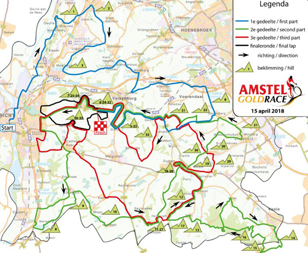 2018 Amstel Gold Race (World Tour), Sunday, April 15