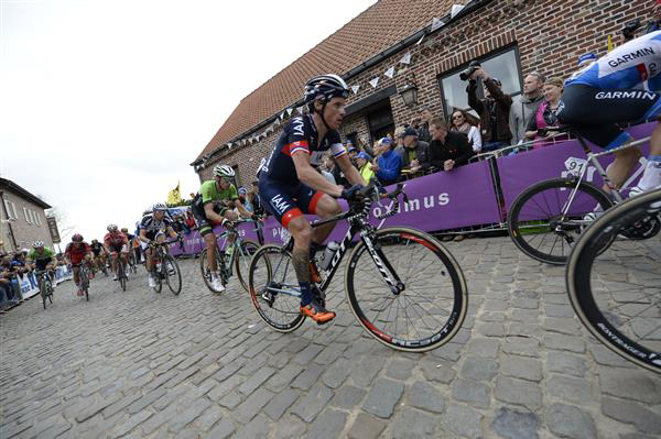 Sylvain Chavanel on the Oude Kwaremont