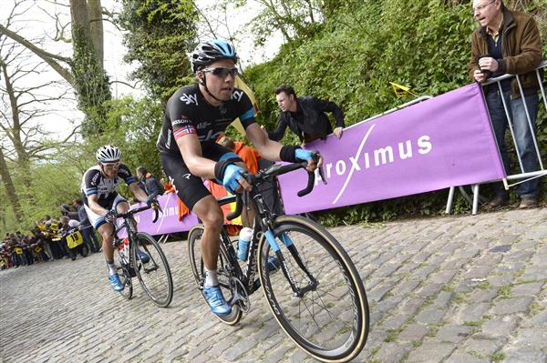 Edvald Boasson Hagen on the Taaienberg