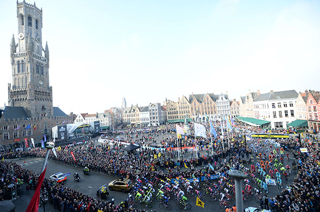 Brugge at the start