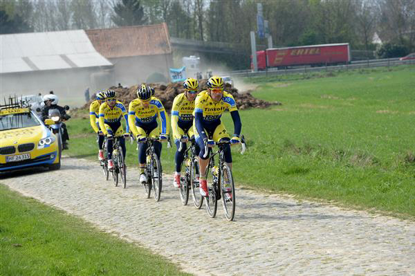 Tinkoff-Saxo at Orchies