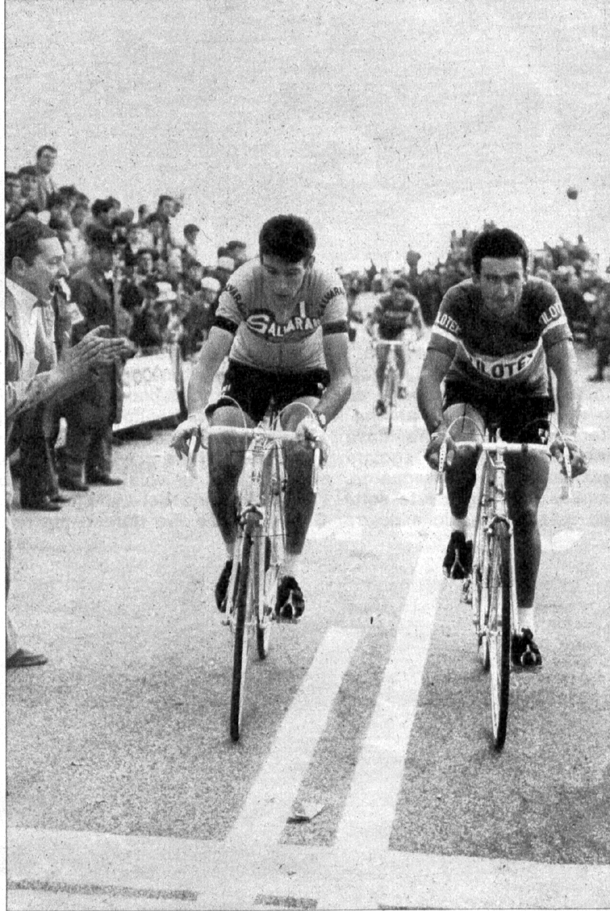 Felice Gimondi and Franco Bitossi