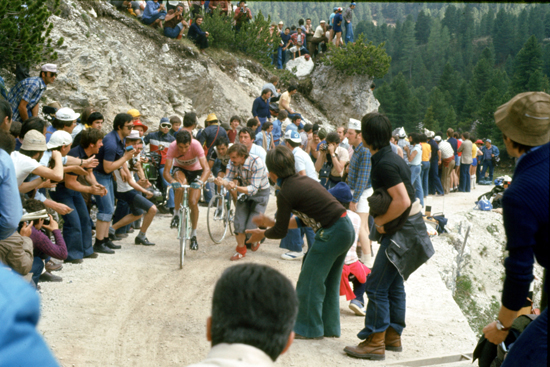 Felice Gimondi in stage 19