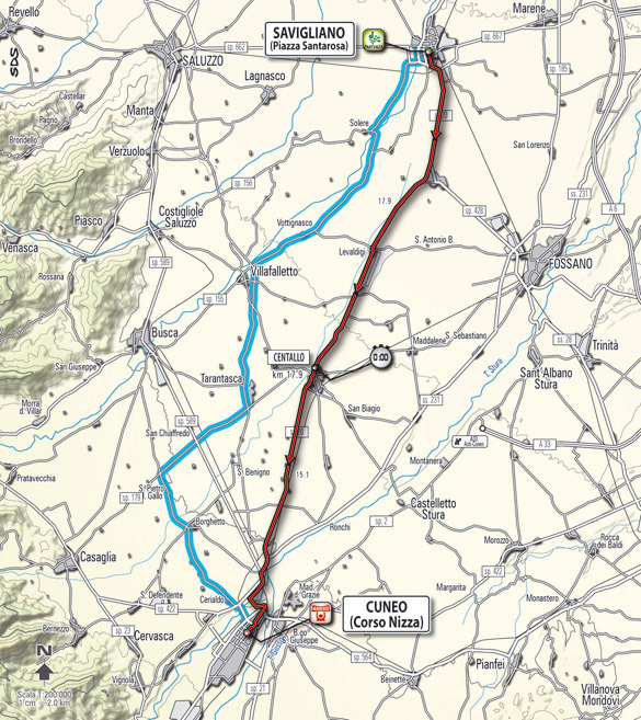 Stage 4 route map