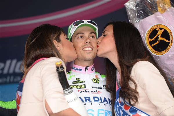 Stage winner Marco Canola