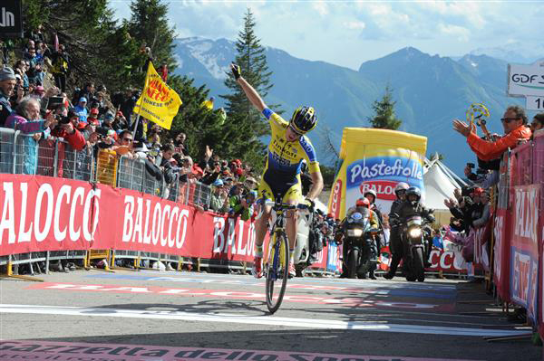 Michael Rogers wins stage 20