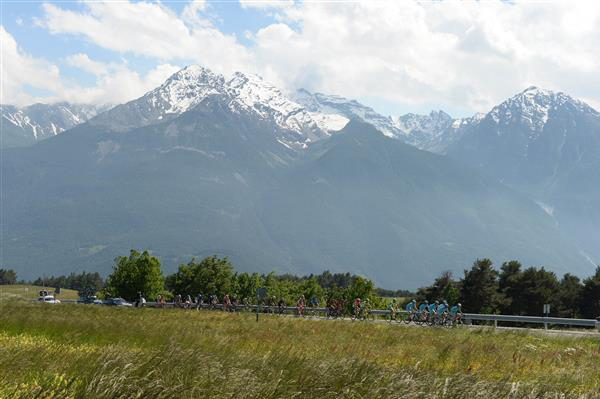 Giro stage 19 panorama