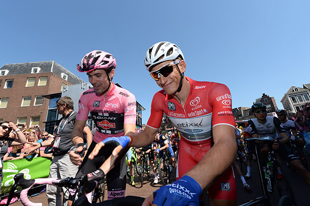 Tom Dumoulin and Marcel Kittel