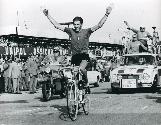 Vittorio Adorni is the 1968 World Road Champion