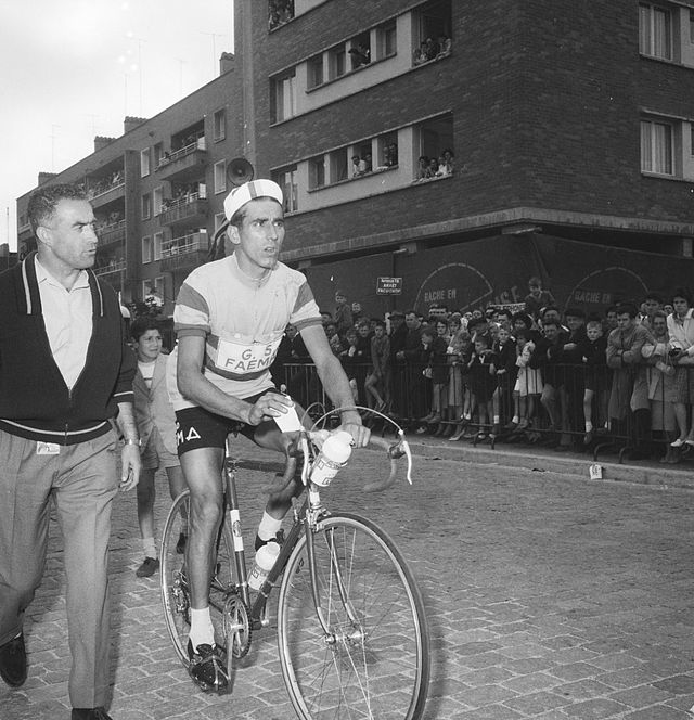 Federico Bahamontes in the 1960 Tour de France