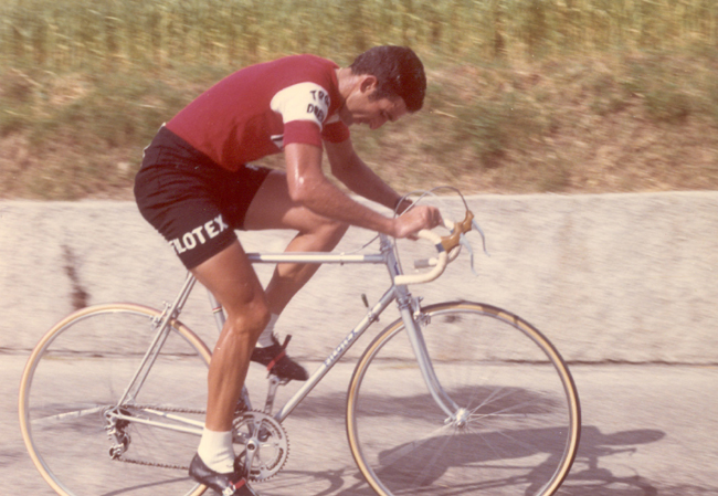 Franco Bitossi ins tage 15 of the 1969 Giro