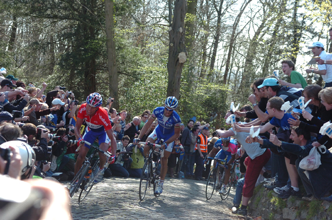 Boonen in the 2007 Tour of Flanders