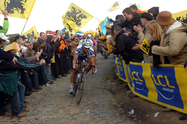Boonen on the cobbles