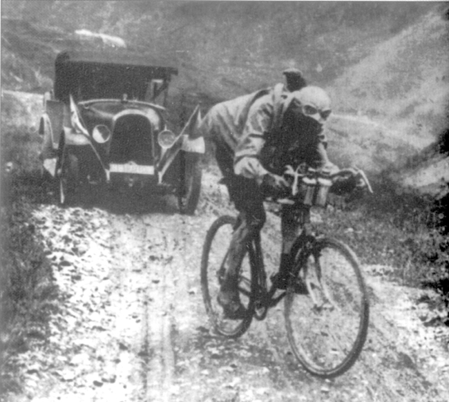 Ottavio Bottecchia n the Izoard