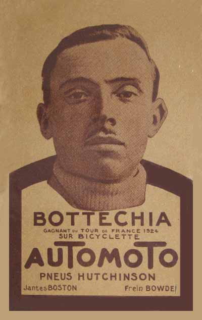1924 Automoto ad featuring Bottecchia