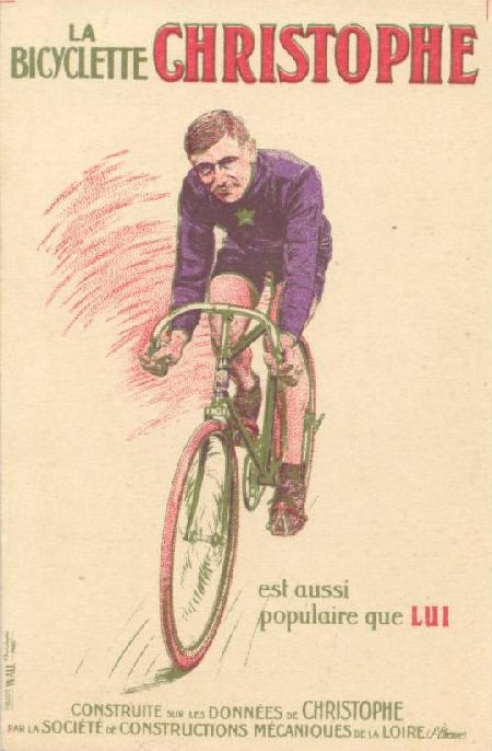 Christophe bicycles poster