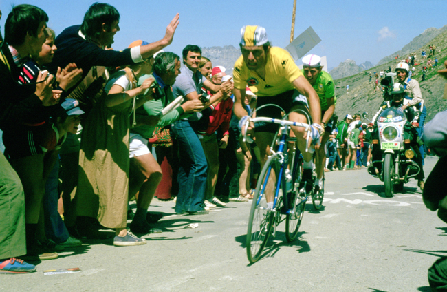 Bernard Hinault in stage 17 of the 1979 Tour de France