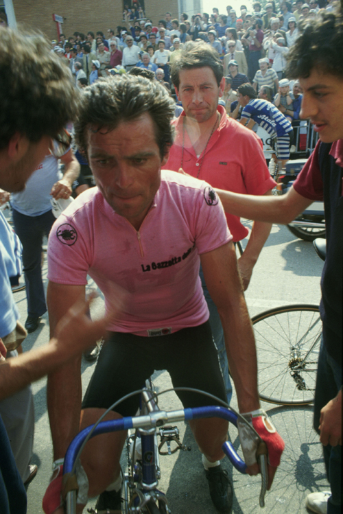Bernard Hinault in the 980 Giro d'Italia