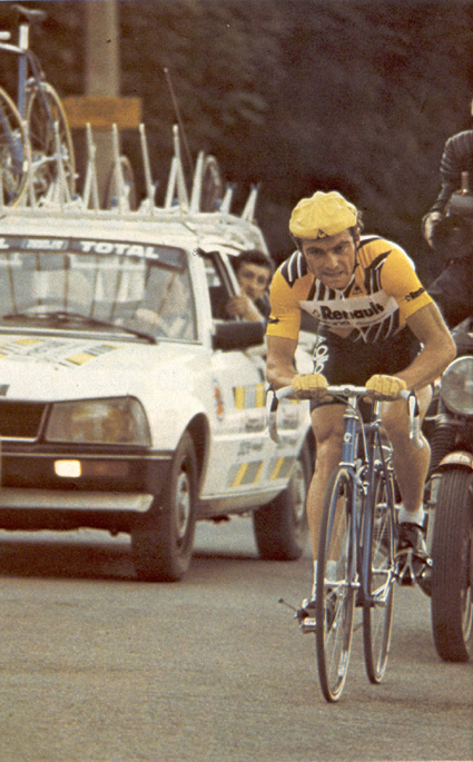 Bernard in Hinault in the 1980 Tour de France