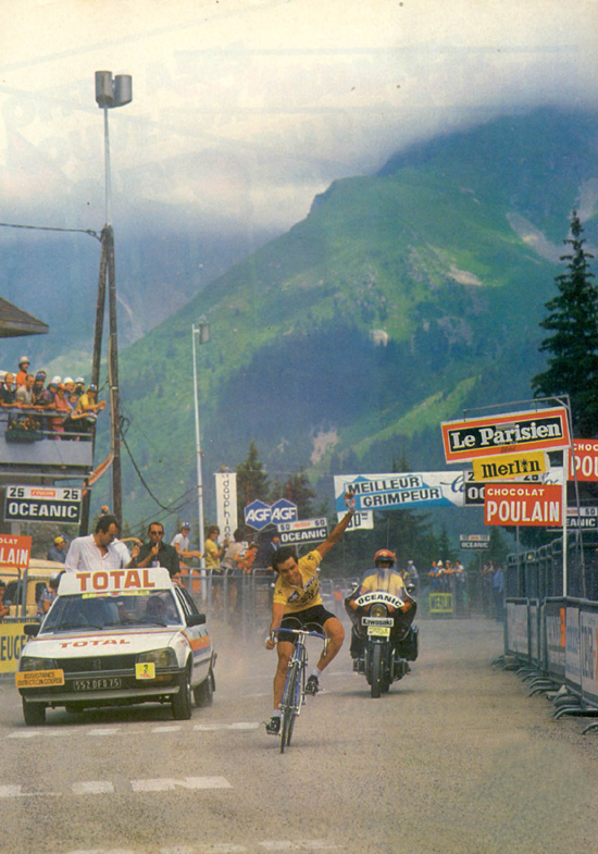 Bernard Hinault wins stage 18 of the 1981 Tour de France