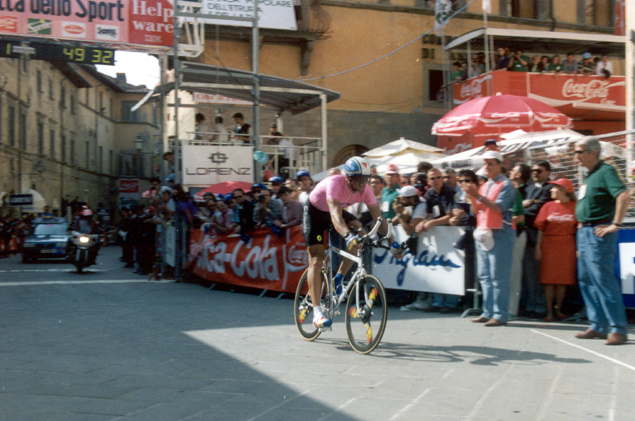 Indurin in stage 4 of the 1992 Giro