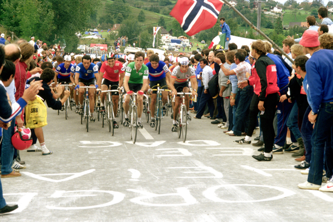 Sean Kelly at the 1983 World's