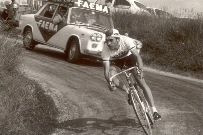 Eddy Merckx in the 1968 GP Castrocaro Terme