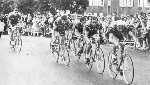 Molteni team in the 1971 Tour de France