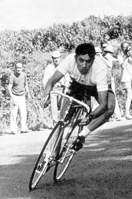 Eddy Merckx in the 1971 Tour de France