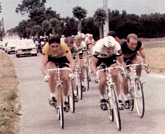 Eddy Merckx n the 1972 Tour de France