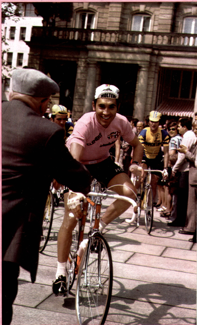 Merckx in the 1973 Giro d'Italia