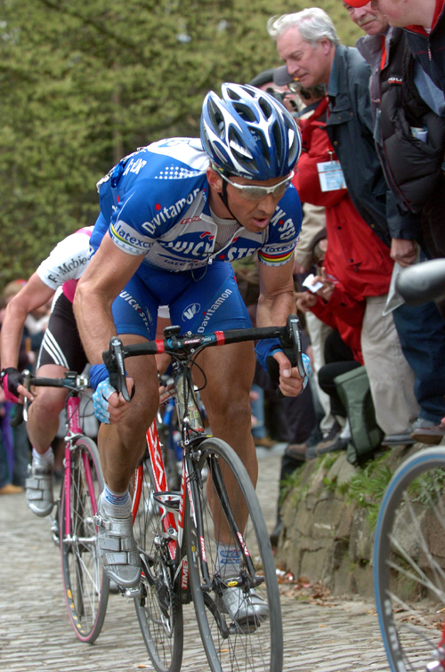 Museeuw in 2004 Tour of Flanders