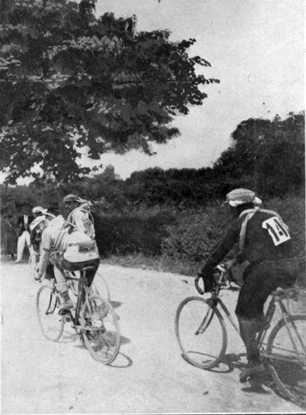 Petit Breton in the 1908 Tour de France