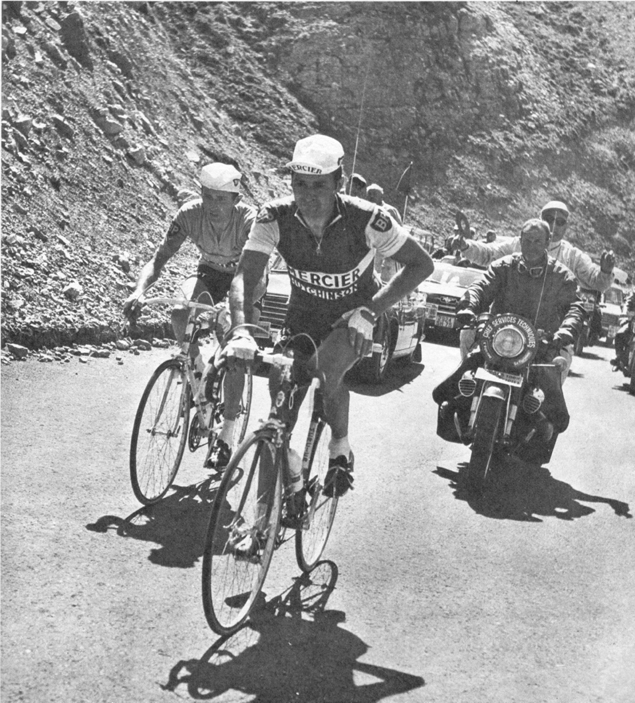 Raymond Poulidor and Roger Pingeon