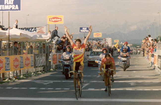 Pascal Richard wins the 1993 Giro di Lombardia
