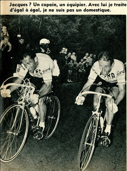 Jean Stablinski and Jaacques Anquetil