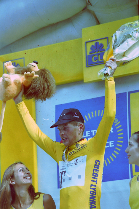 Ullrich in yellow