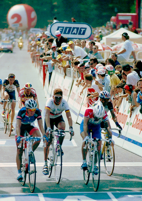 Ullrich finishes stage 3 of the 1997 Tour de France
