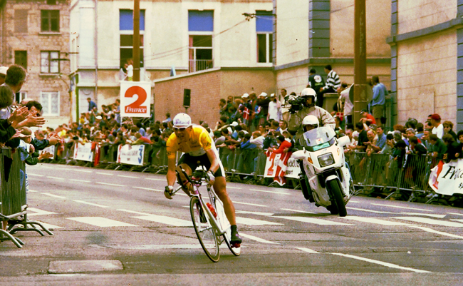 Ullrich ride the 1997 Tour stage 12 time trial