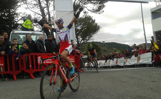 Angel Vicioso wins the 2015 GP Miguel Indurian