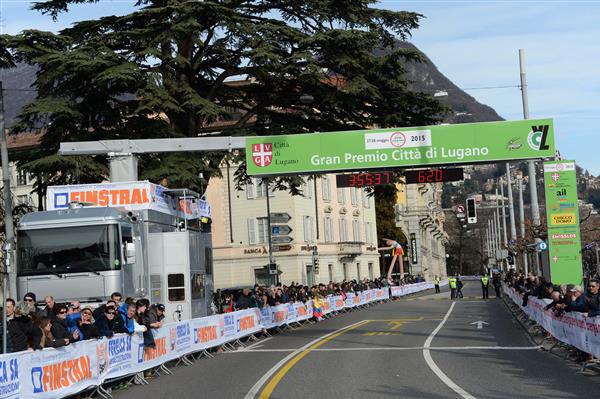 GP Lugano finish line