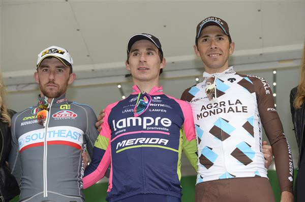 2015 GP Lugano podium