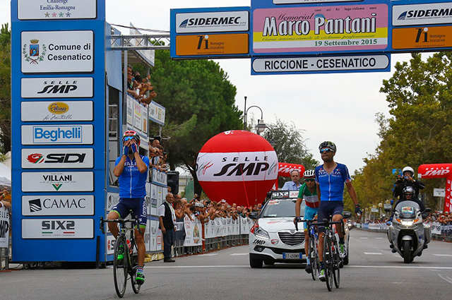 Diego Ulissi wins 2015 Memorial Marco Panatani