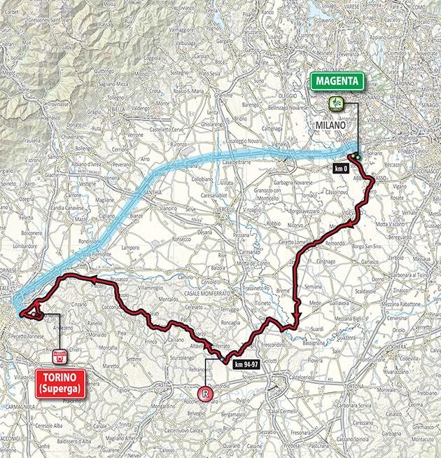 2018 Milano-Torino by BikeRaceInfo
