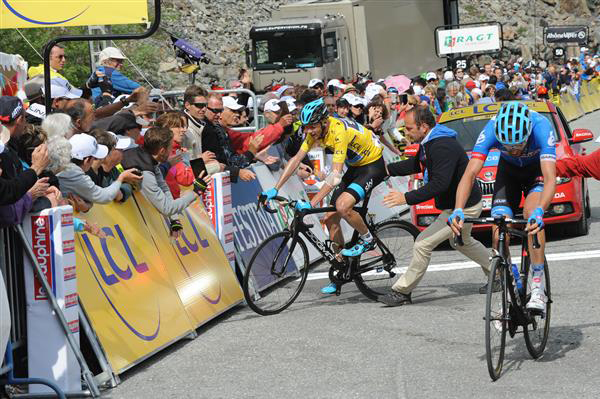 Chris Froome and Ryder Hesjedal