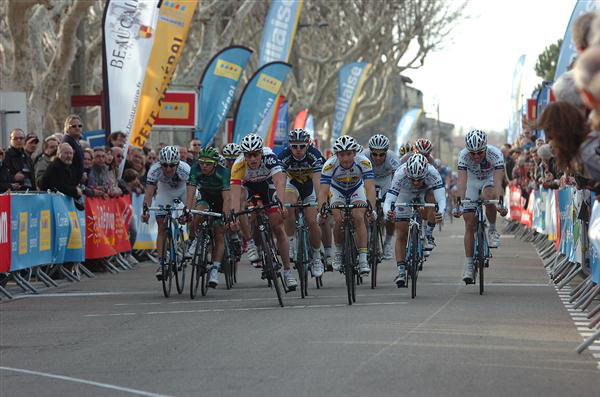Stage 1 finish