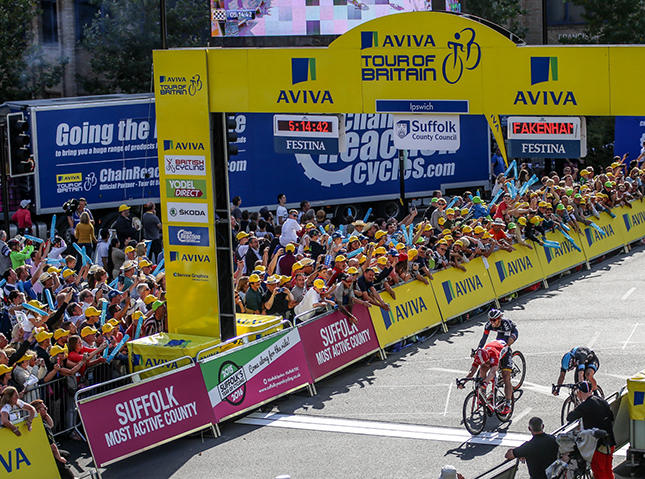 Andre Greipel wins Tour of Britain stage 7