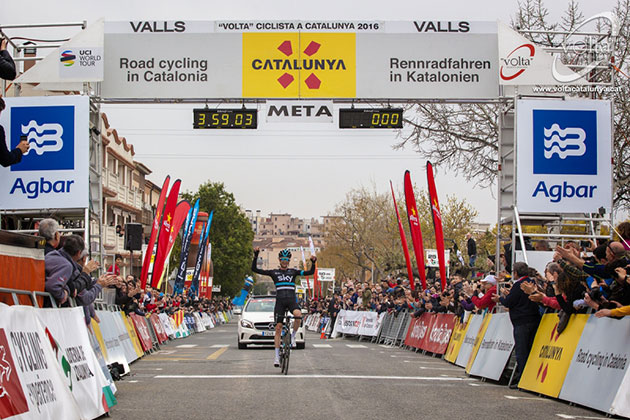 Catalonia stage 5 finish